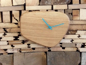 horloge ovale A RawMat turquoise