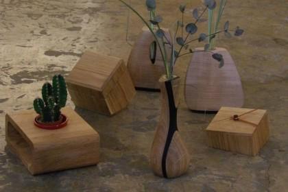 accessoires déco design bois