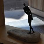 Sculpture dans l'atelier Arawmat