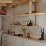 Sculptures sur étagères Arawmat lors des Pignolards