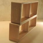 Modules d'étagères Zigzag
