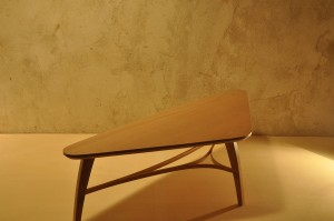 Table basse tripode design Arawmat TbH117