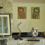 Exposition d'artistes dans l'atelier Arawmat