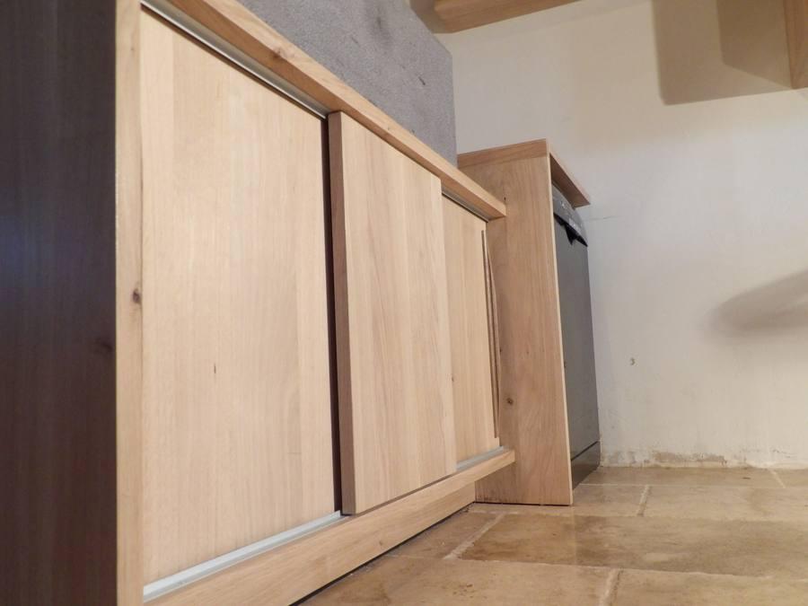 meuble sous évier pierre de Volvic