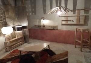 mobilier bois massif contemporain et design