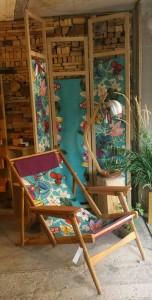 Mobilier de jardin contemporain fabriqué dans le Puy de Dômen