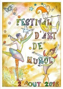 affiche-Festival d'art murol