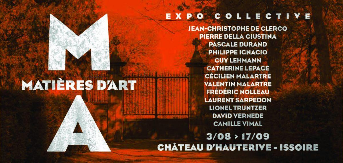Exposition Collective Estivale Matières d'Art 2017e