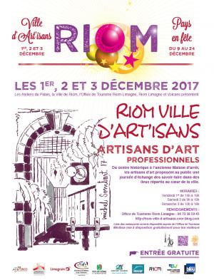 Riom ville d'artisans_biénale des métiers d'Art