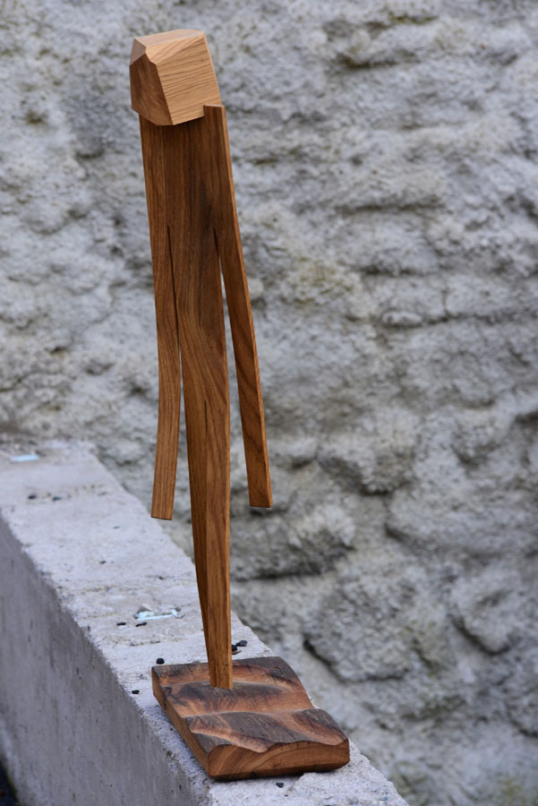 Sculpture bois woodmen arawmat made in France