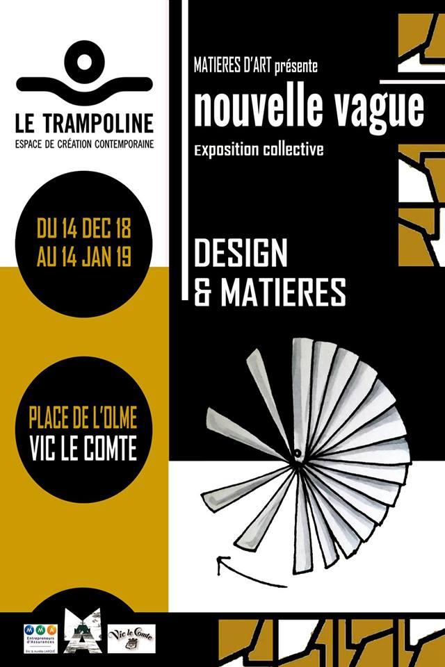 Matières d'Art #2 sur le design et les matiière
