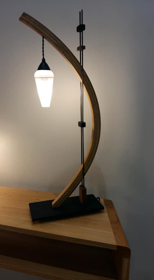 Création mobilier luminaires arawmat