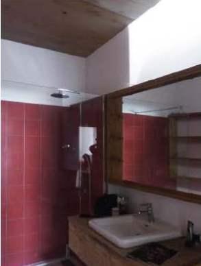 salle de bain bois rénovée