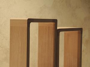 Etagères design en bois massif Arawmat