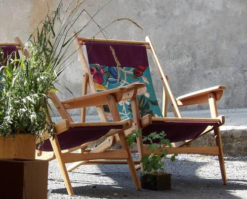 Mobilier de jardin contemporain de fabrication française